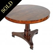 Regency Rosewood Supper Table