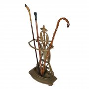 Victorian Cast Iron Stick Stand