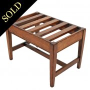 Edwardian Oak Luggage Rack