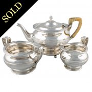 Glasgow Sterling Silver Tea Set