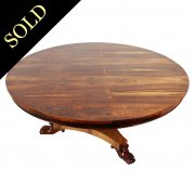 George IV Style Rosewood Coffee Table