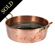 Large Victorian Copper Pan
