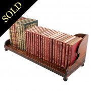 Regency Mahogany Book Stand
