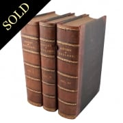 Three volumes of 'The History of England'
