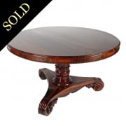 Regency Tiger Wood Centre Table