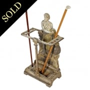 Victorian Cast Iron 'Wallace' Stick Stand