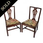Pair of 18th Century Mahogany Chairs