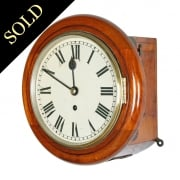 "8"" Dial Fusee Wall Clock"