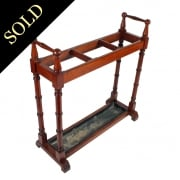 Victorian Mahogany Stick Stand