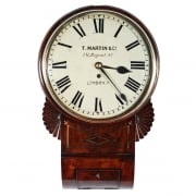 Regency Fusee Wall Clock SOLD