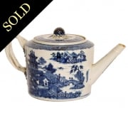 18th Century Chinese Nanking Tea Pot