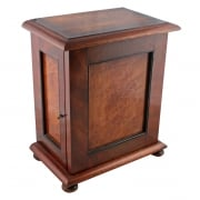 Mahogany & Maple Table Cabinet