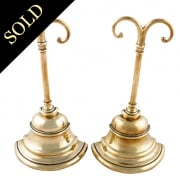 Pair of Brass Door Stops