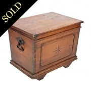 19th Century Continental Oak Chest