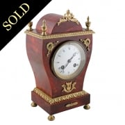 French Empire Style Mantel Clock