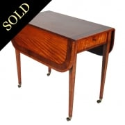 Regency Satinwood Pembroke Table