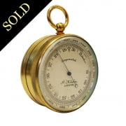 Pocket Barometer and Compass