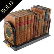 Victorian Coromandel Wood Book Slide