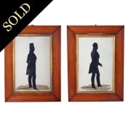 Pair of Victorian Silhouettes