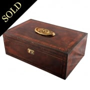 Georgian Mahogany Deed Box