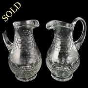 Pair of Crystal Jugs