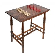 Victorian Poker Work Games Table SOLD