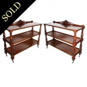 Pair of Mahogany Buffets