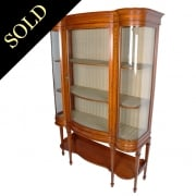 Inlaid Satinwood Display Cabinet