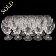 20 Waterford Crystal Wine Glasses