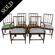 Set of Six 18th Century Hepplewhite Chairs
