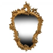 Georgian Carved Gilt Wood Mirror