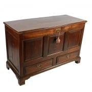 18th Century Oak Mule Chest