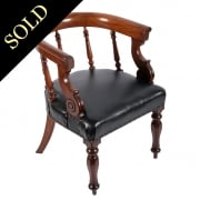 William IV Library Arm Chair