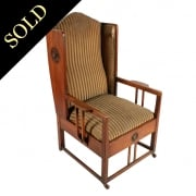 Arts & Crafts Oak Easy Chair