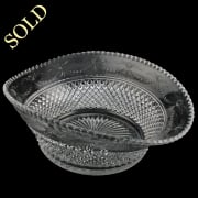 Victorian Cut Crystal Bowl