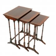 Nest of Three Edwardian Tables