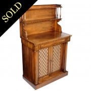 Regency Tiger Wood Chiffonier