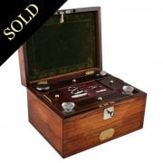 Victorian Rosewood Jewellery or Dressing Box