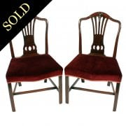 Pair of Georgian Mahogany Chairs