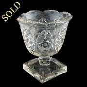Regency Cut Crystal Bowl