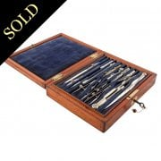 Victorian Box of Drawing Instruments