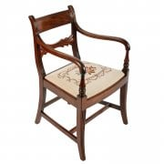 "Georgian ""Gillows"" Design Elbow Chair"
