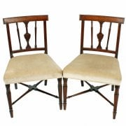 Pair of Georgian Sheraton Chairs