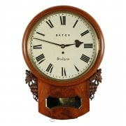 19th Century Fusee Wall Clock