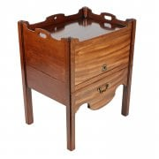 Georgian Tray Top Commode