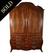 18th Century Dutch Mahogany Armoire