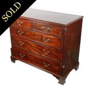 18th Century Mahogany Chest