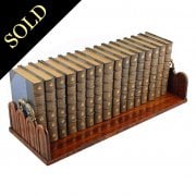 George IV Zebra Wood Book Stand