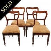Four William IV Gillows Style Chairs