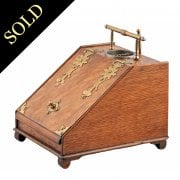 Unusual Edwardian Cigar Box